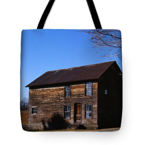 Old Farm Building Tote Bag