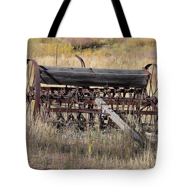 Farm Implament Westcliffe Co Tote Bag
