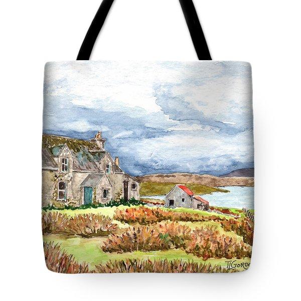 Old Farm Isle Of Lewis Scotland Tote Bag