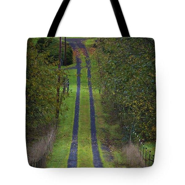 Old Farm Road Tote Bag
