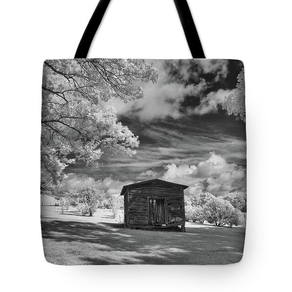 Old Farm Shed  Tote Bag