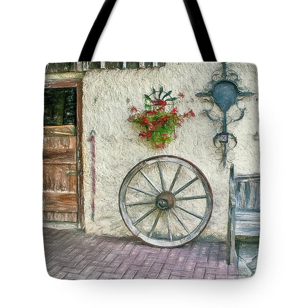 Tote Bag featuring the photograph Old Farmhouse by Jutta Maria Pusl