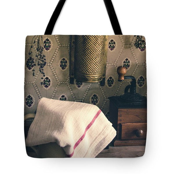 Tote Bag featuring the photograph Old Farmhouse Kitchen Simple Life 12 by Julie Palencia