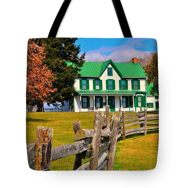 Old Farmhouse Tote Bag