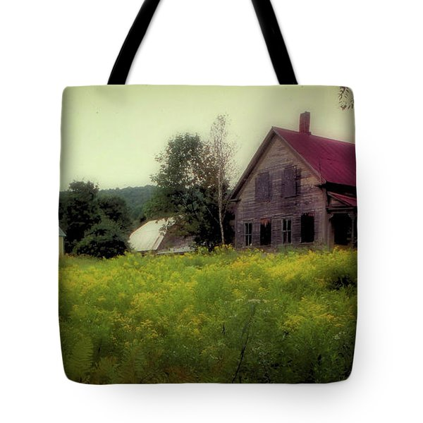 Old Farmhouse - Woodstock, Vermont Tote Bag