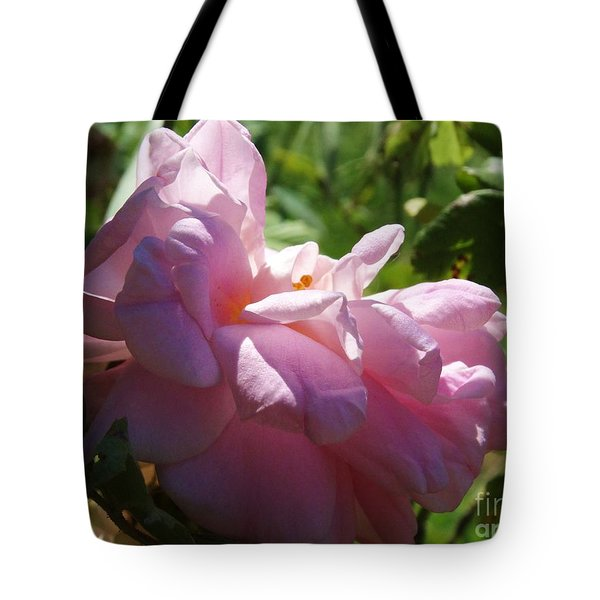 Old Fashion Rose Two Tote Bag by J L Zarek