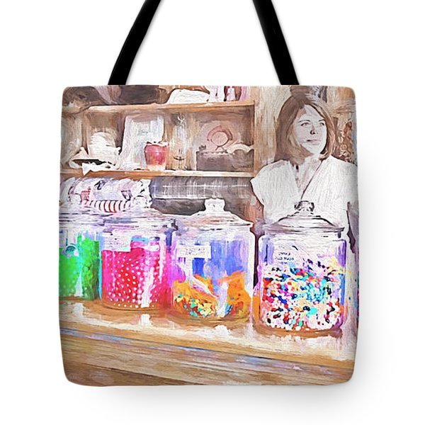 Old-fashioned Candy - Shopkeeper Tote Bag