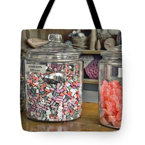 Old-fashioned Candy Tote Bag
