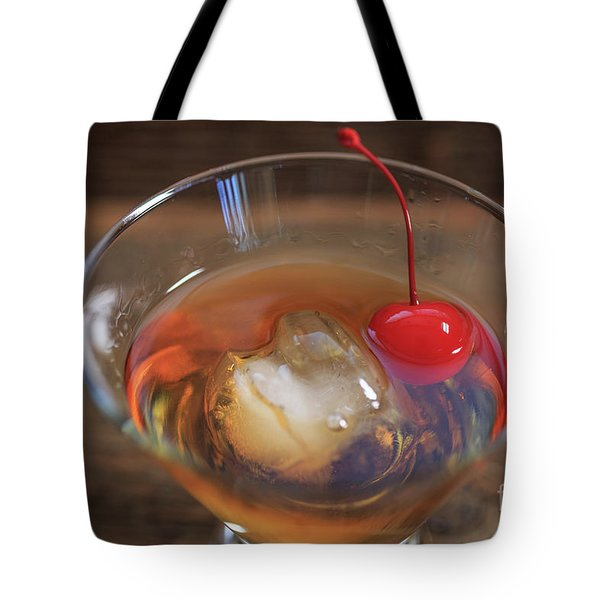 Tote Bag featuring the photograph Old Fashioned Cocktail by Edward Fielding
