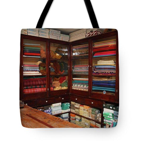 Old-fashioned Fabric Shop Tote Bag by Gaspar Avila