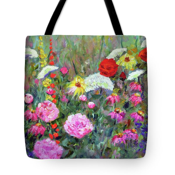 Old Fashioned Garden Tote Bag