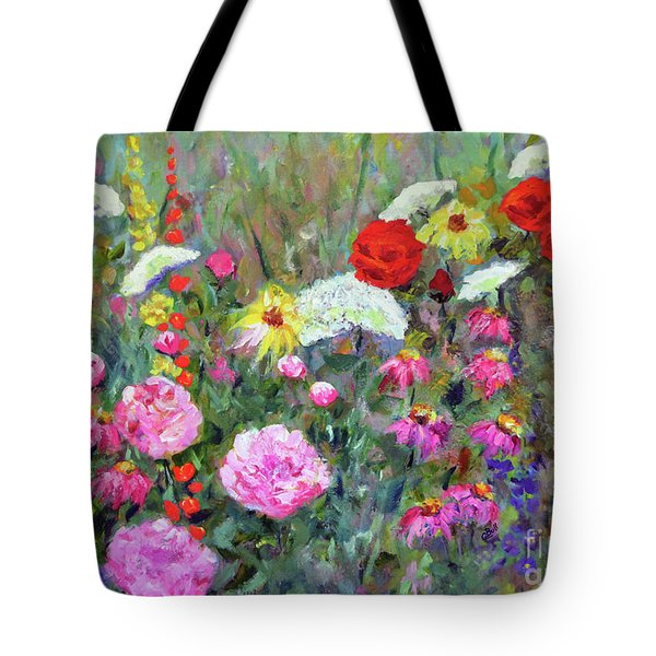 Old Fashioned Garden Tote Bag by Claire Bull