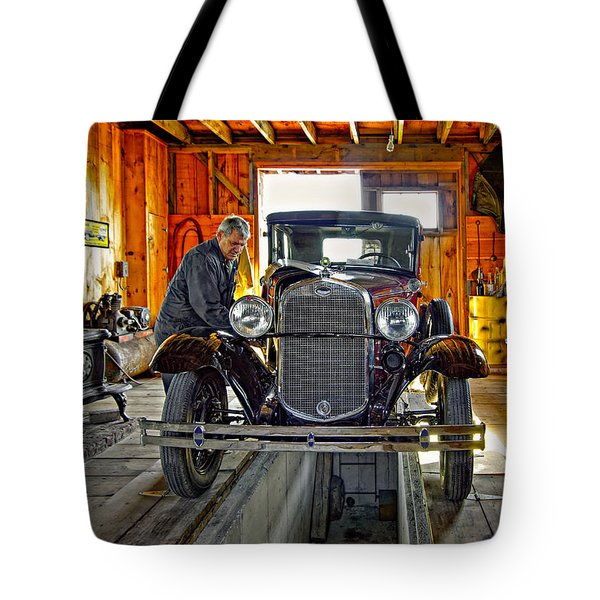 Old Fashioned Tlc Tote Bag