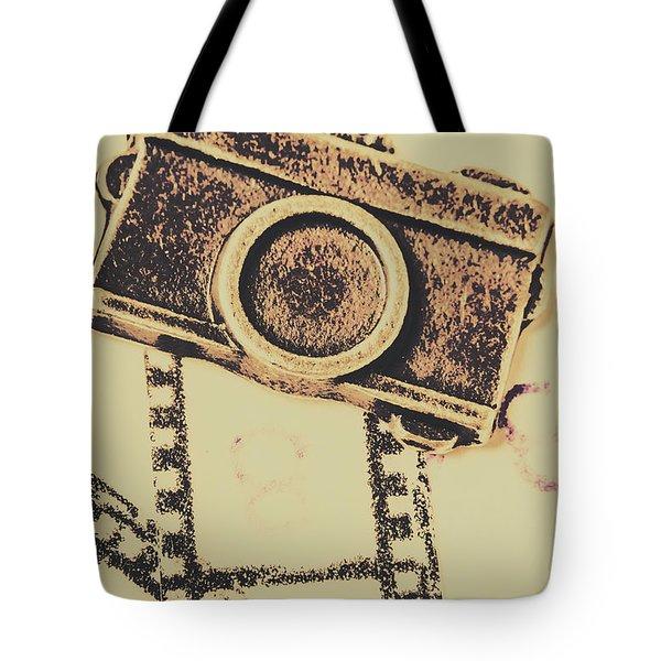 Old Film Camera Tote Bag