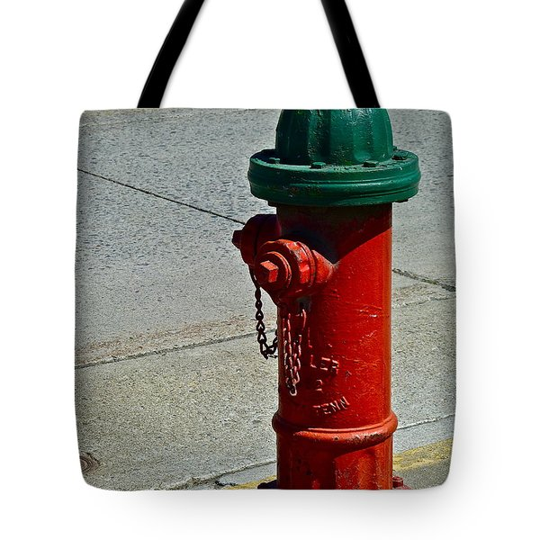 Old Fire Hydrant Tote Bag