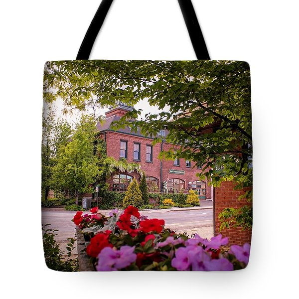 Old Fire Station Easthampton, Ma Tote Bag
