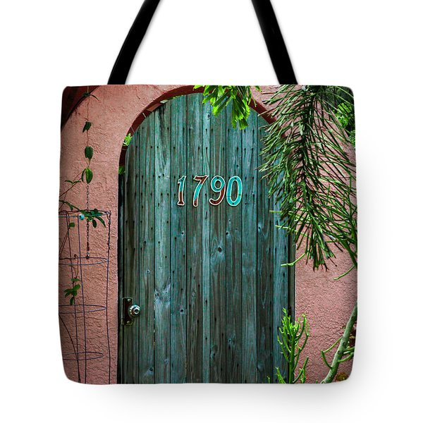 Old Florida 7 Tote Bag