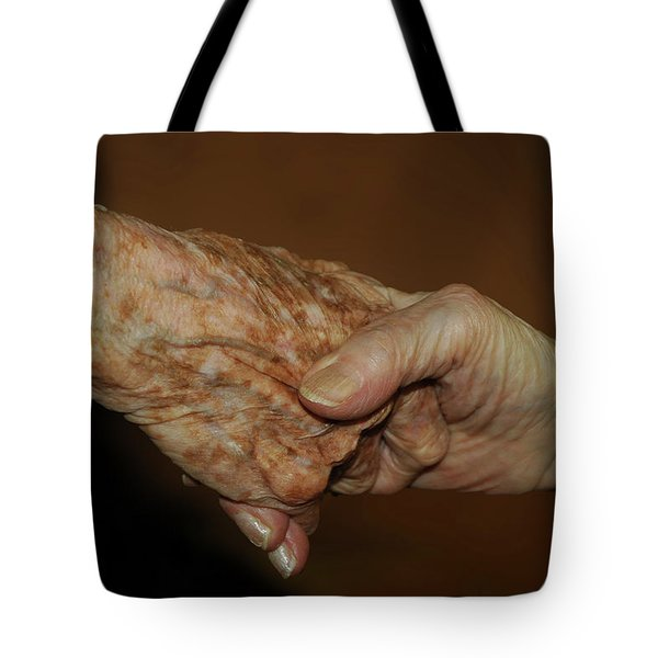Old Friends Tote Bag by Carolyn Dalessandro