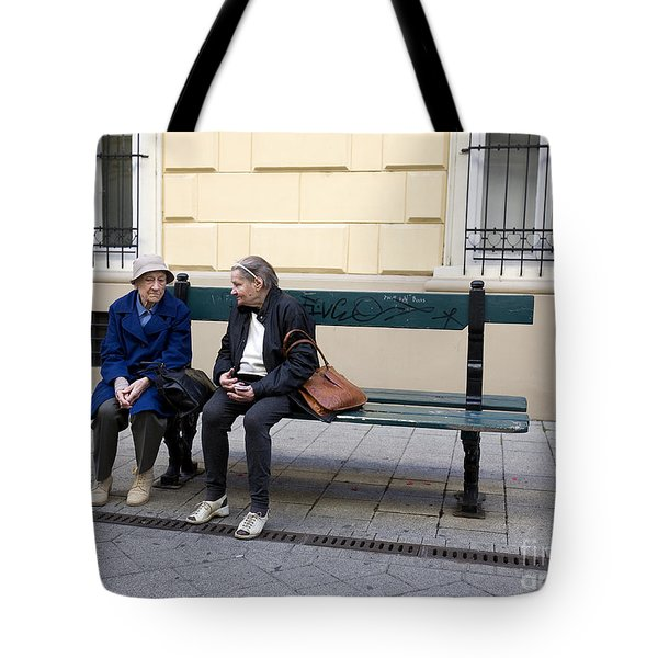 Old Friends Tote Bag by Madeline Ellis