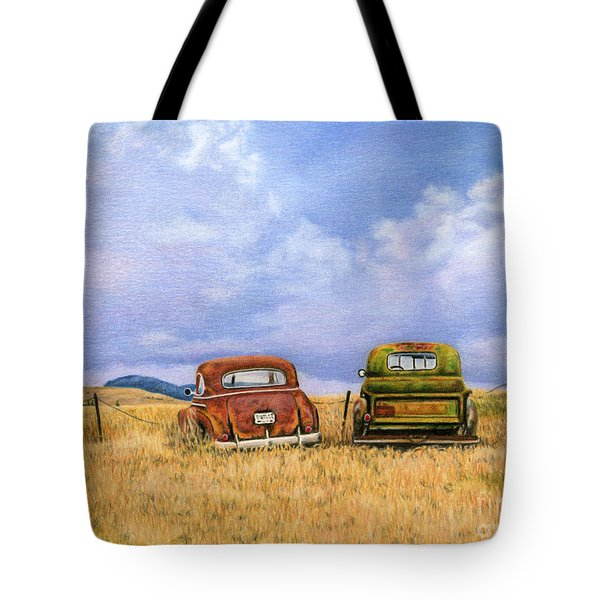 Two Old Friends  Tote Bag