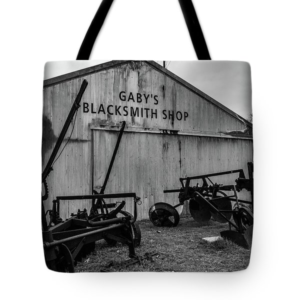 Old Frisco Blacksmith Shop Tote Bag