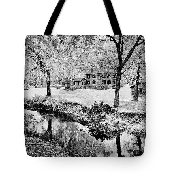 Tote Bag featuring the photograph Old Frontier House by Paul W Faust - Impressions of Light