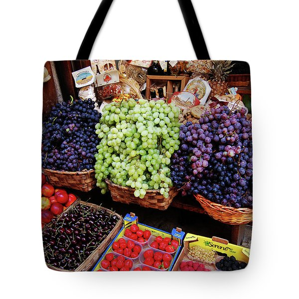 Tote Bag featuring the photograph Old Fruit Store by Frank Stallone