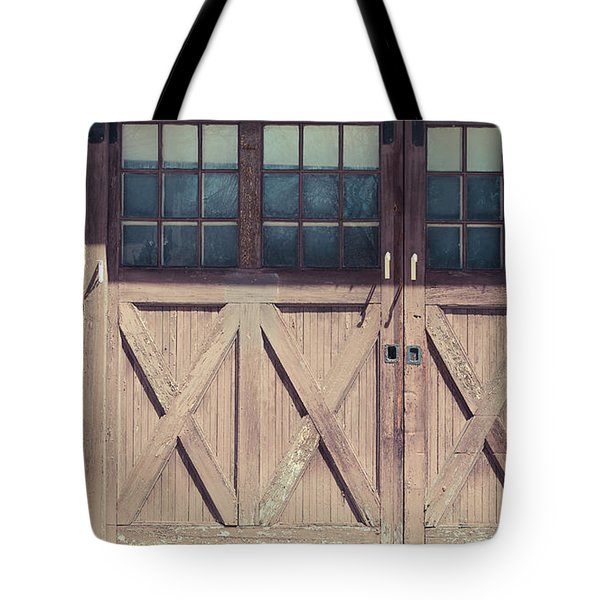 Garage Door Tote Bags Fine Art America