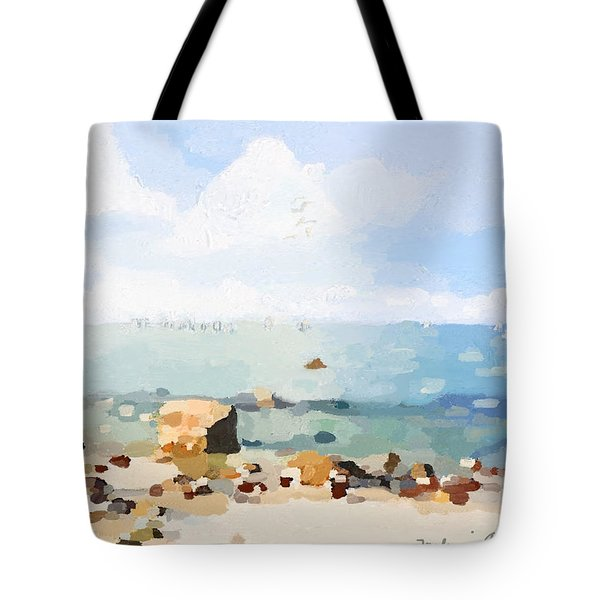 Old Garden Beach  Tote Bag