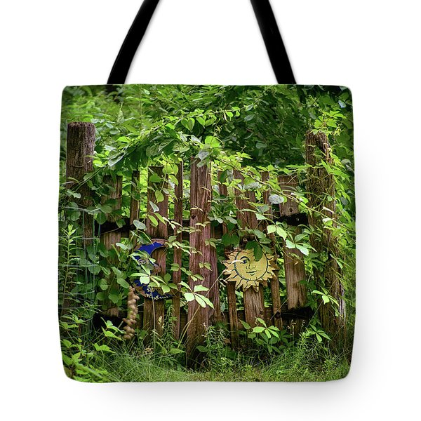 Tote Bag featuring the photograph Old Garden Gate by Mark Miller