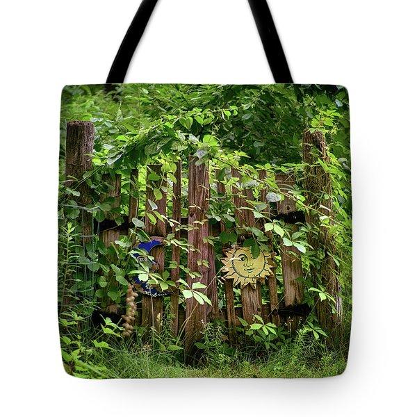 Old Garden Gate Tote Bag by Mark Miller