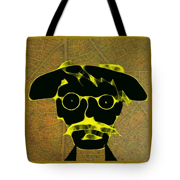 Tote Bag featuring the digital art Old Gardener by Asok Mukhopadhyay