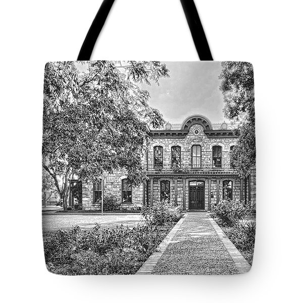 Old Gillespie County Courthouse Tote Bag
