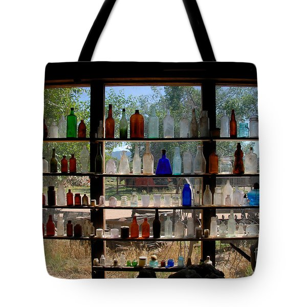 Old Glass Tote Bag by David Lee Thompson