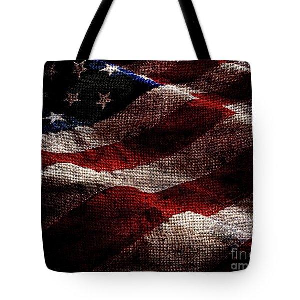 Old Glory II Tote Bag