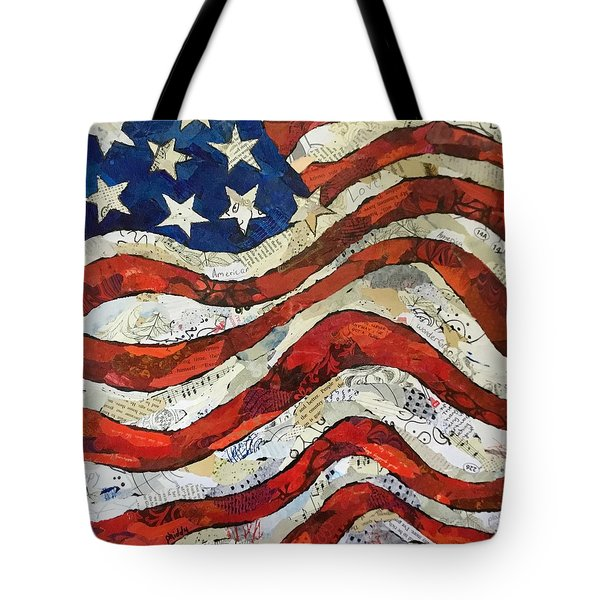 Old Glory II Tote Bag