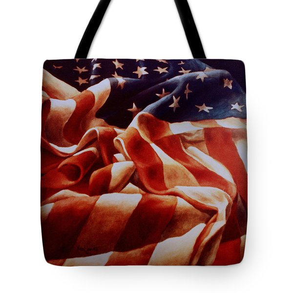 Old Glory Tote Bag by Michael Lang