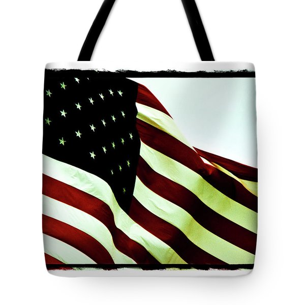 Old Glory Tote Bag by Scott Pellegrin