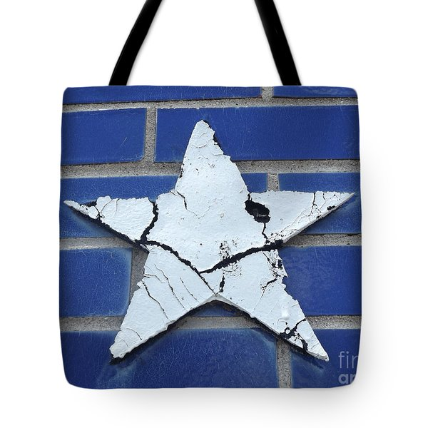 Old Glorys Star Tote Bag by Erick Schmidt