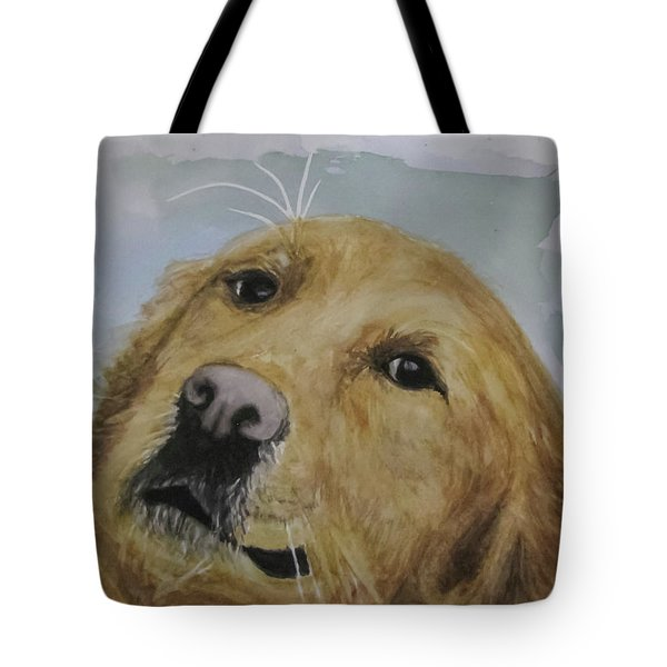 Old Golden Retriver Tote Bag