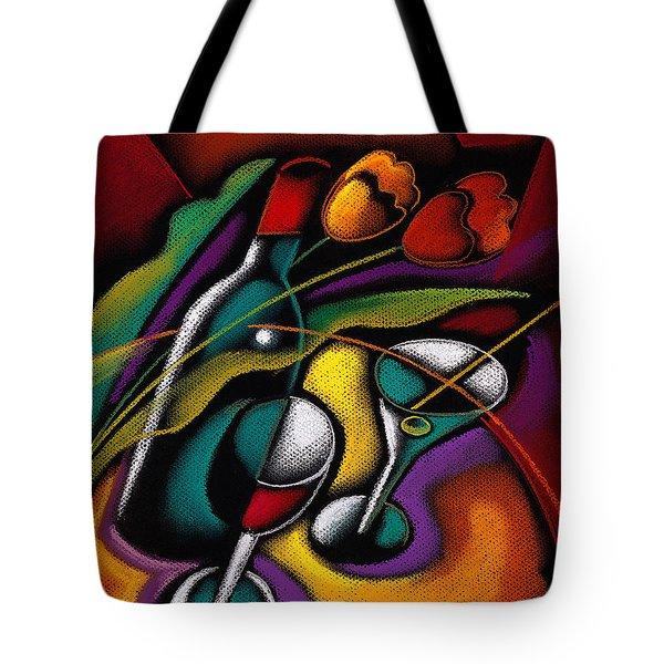 Old Good Wine Tote Bag by Leon Zernitsky