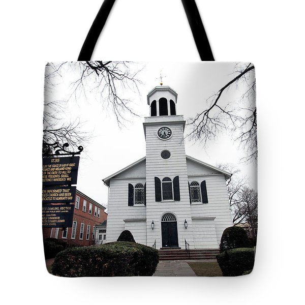St. Georges Church Episcopal Anglican Tote Bag