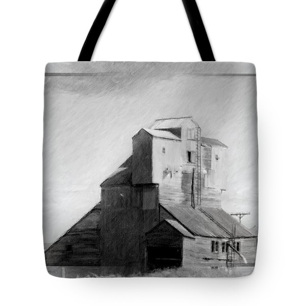 Old Grain Elevator Tote Bag