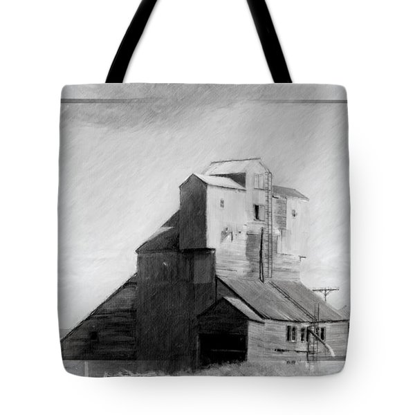 Old Grain Elevator Tote Bag