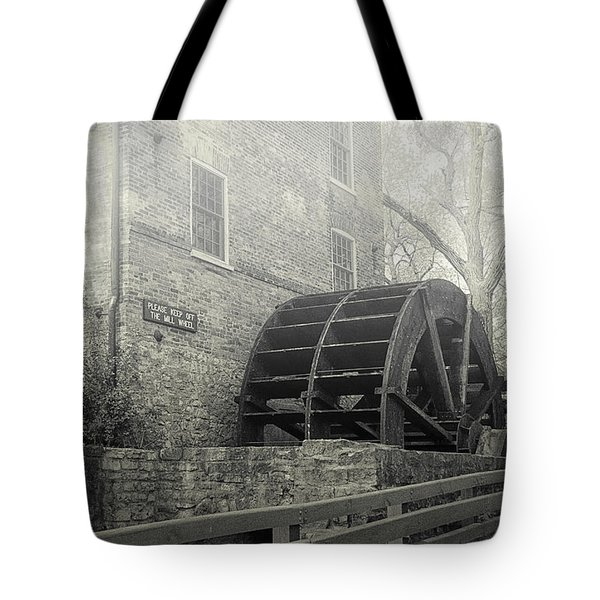 Tote Bag featuring the photograph Old Graue Mill by Julie Palencia