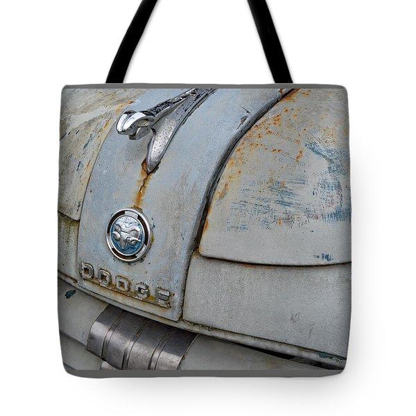 Old Gray Ram Tote Bag