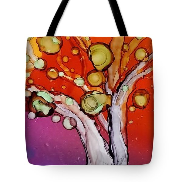 Old Gray Tree Tote Bag