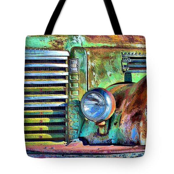 Old Greenie  Tote Bag