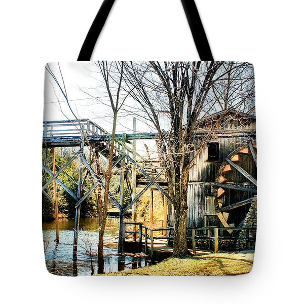 Old Gristmill Tote Bag