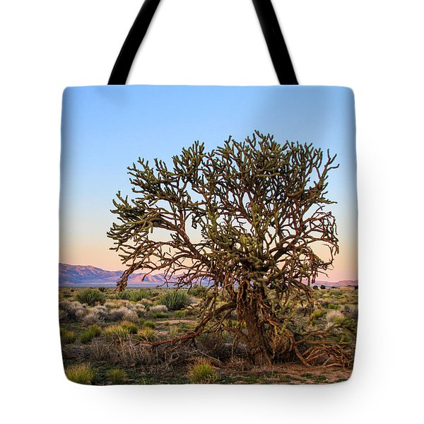 Old Growth Cholla Cactus View 2 Tote Bag